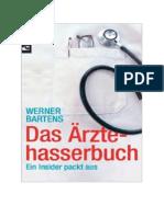 Bartens, Werner - Das Ärztehasserbuch