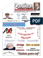 Datina - Editie Națională 23-24.01.2021- Prima Pagină