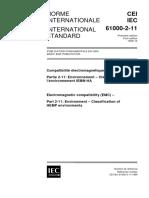 IEC 61000-2-11-1999