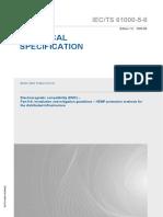 IEC TS 61000-5-8-2009