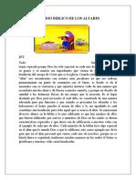 ESTUDIO BIBLICO DE LOS ALTARES
