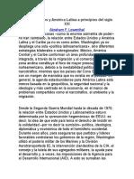 Estados Unidos y América Latina a principios del siglo XXI