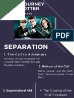 Hero's journey -  Harry Potter