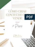 Como Criar Conteúdo Que Vende- 7 Passos _ I Love Web by Rita Loução