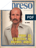 Revista Expreso Imaginario Nro. 50 - Septiembre 1980
