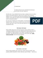 5 dicas para detoxificar naturalmente