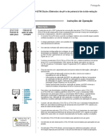 Signet 2724-2734 pH-ORP Electrodes (Portuguese)