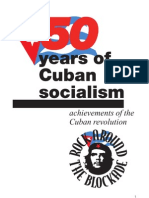 50 years of Cuban Socialism- achievements of the Cuban revolution