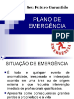 Módulo Plano de Emergencia e Brigada