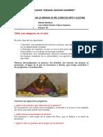 FICHA DE EVIDENCIA DE LA SEMANA 32 DEL CURSO DE ARTE Y CULTURA