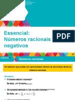 Essencial_ Números Racionais Não Negativos