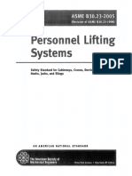 ASME B30.23 - 2005 Personnel Lifting Systems - Scope