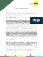 3. Politica derechos humanos_grupo_exito