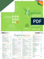 Organica Pizza Company Menu 2011