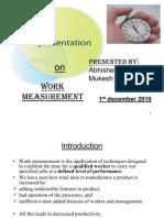 Work-measurement