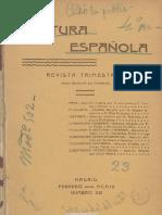 13 Cultura Española. 2-1909, n.º 13