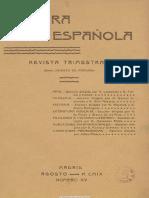 15 Cultura Española. 08-1909, n.º 15