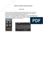 Templates for Basic Synth Sounds-3