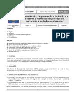 Npa 002 - Projeto Tecnico e Memorial Simplificado de Prevencao a Incendio e a Desastre - 1o Fev 2019