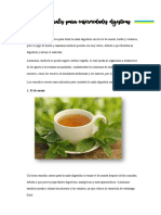 Remedios naturales para enfermedades digestivas