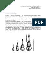Instrumentos del reanacimiento