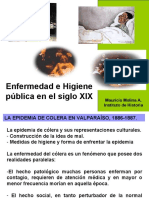 epidemia colera chile 1887