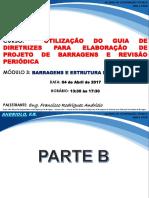 Curso Guia de Diretrizes Para Elaboracao de Projeto de Barragens e Revisao Periodica Modulo 3 Barragens e Estruturas de Concreto Parte b