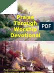 Praise Through Worship (Devotional)