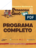Programa Completo Encontro Nacional Pedagogia Griô Ead Jan 21