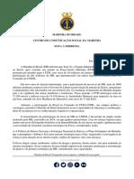 Nota à imprensa - Regresso da Fragata Independência UNIFIL