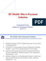 Mobile Micro Payment 07152007