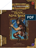Tome of Battle 3.5 OEF