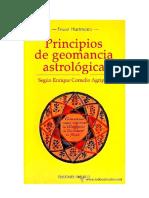 00PRINCÍPIOS DE GEOMANCIA ASTROLÓGICA - SEGÚN ENRIQUE CORNELIO AGRIPPA - Franz Hartmann