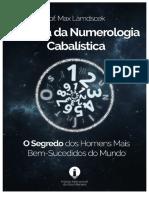 A BÍBLIA DA NUMEROLOGIA CABALÍSTICA - Prof. Max Làmdscek