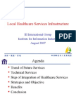 Local Healthcare Services 07222007