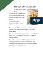 Appetizer Recipe