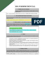 FORMATO analisis jurisprudencial acciones wilber