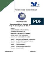 Cuestionario U1 Algoritmos y LP-1