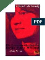 Prinz, Alois - Lieber Wütend Als Traurig (Biografie Meinhof)