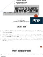 Session_2_Kinetics_of_ Particles_Force_ Mass_and_Acceleration