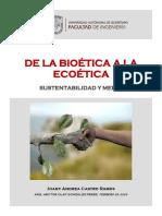 Ensayo Bioetica Ecoetica
