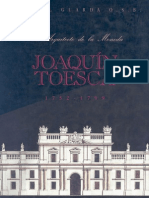 Joaquin Toesca, El arquitecto de la Moneda.