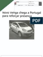 """KiaVenga no jornal """"A União"""""""