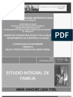 ESTUDIO INTEGRAL DE FAMILIA