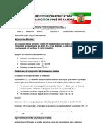 GUIA DE MATEMATICA OCTAVO