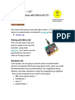 MIT App Inventor Microbit IOpin Potentiometer