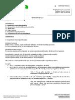 Resumo-Direito Processual Civil-Aula 10-Competencia-Eduardo Francisco-ATR