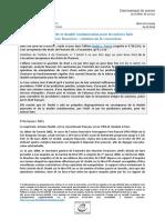 Arr_t Nodet c. France - double poursuite et double condamnation pour les m_mes faits en mati_re financi_re