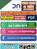Ofertas Lejon Validas Quinta,Sexta,Sabado 21a23 Jan 2021 Qi T