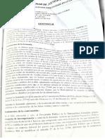 SENTENCIA DE PRIMERA INSTANCIA